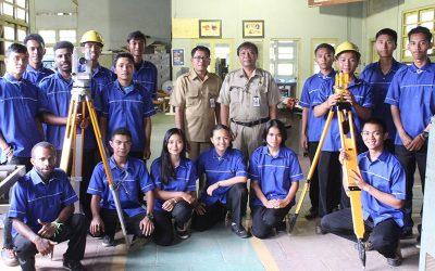 Pelatihan Surveyor di UPT Pelatihan Kerja Singosari