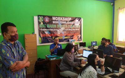 Pelatihan Pembelajaran Daring bagi Guru SDK Mardiwiyata Malang
