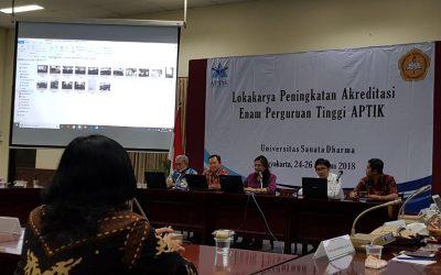 Lokakarya Peningkatan Akreditasi Prodi PTS APTIK